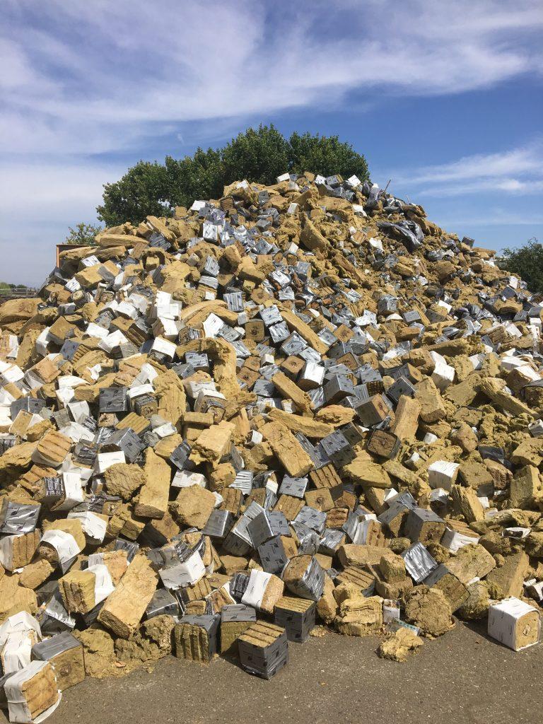 Recycle Rockwool